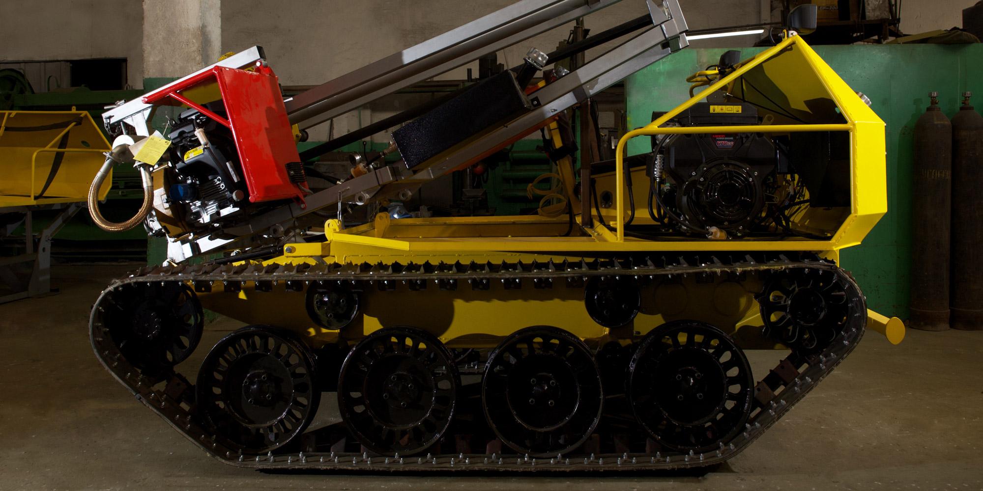 УБШМ-1-13 на базе ШС-04