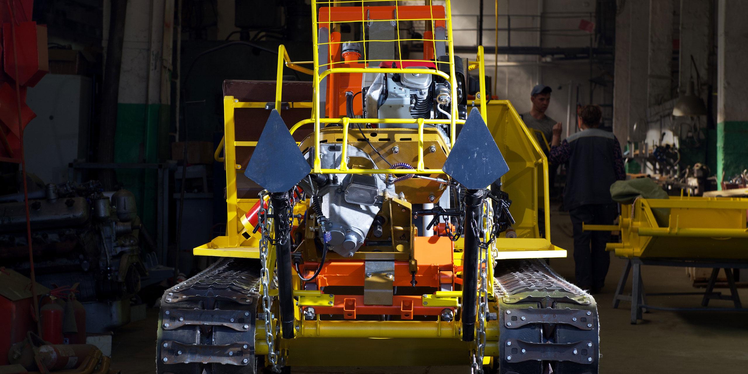 Установка буровая малогабаритная УБШМ-1-13 на базе самоходного шасси ШС-04