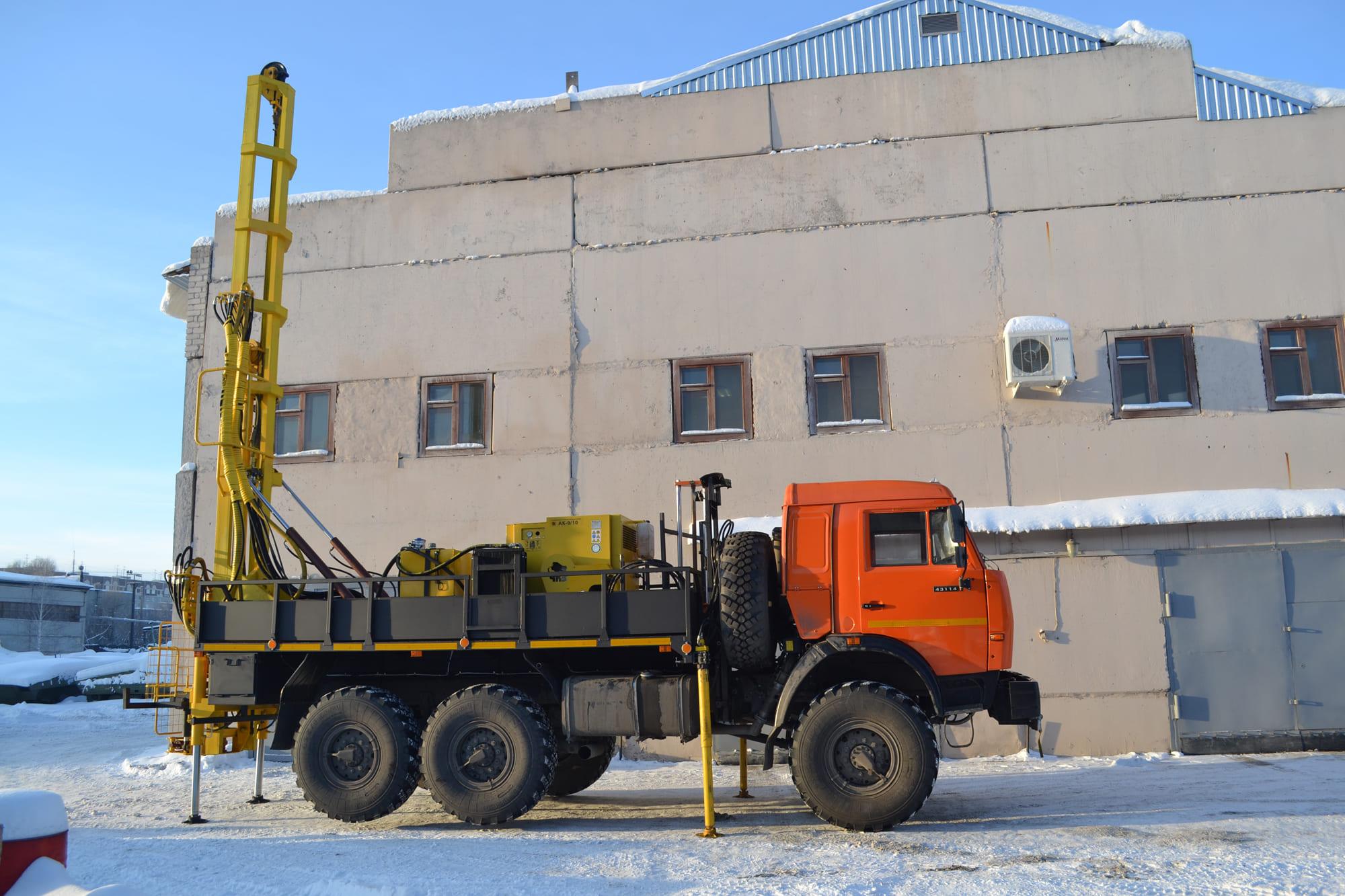 Установка буровая гидромеханизированная УБГМ-1Д на базе КАМАЗ 43114, 43118