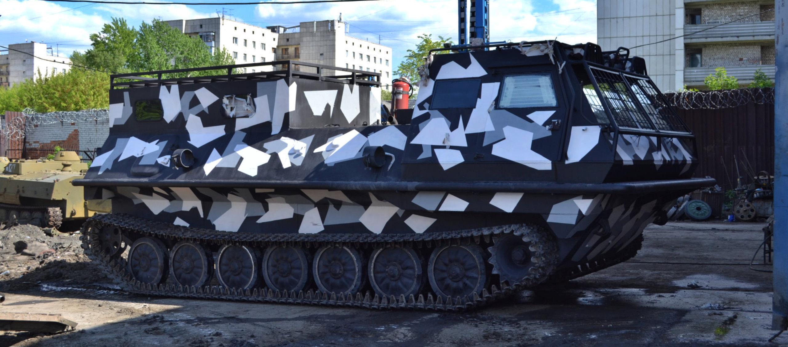 Снегоболотоход КТМ-11Г грузопассажирский с кунгом