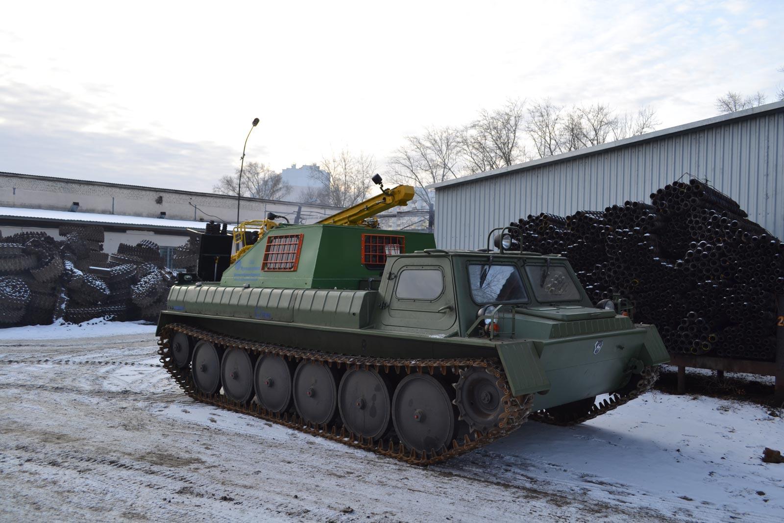 Установка буровая гидромеханизированная УБГМ-1М на базе ГАЗ 34039