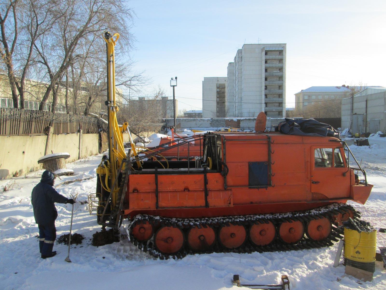Установка буровая гидромеханизированная УБГМ-1М на базе ТТМ 3902