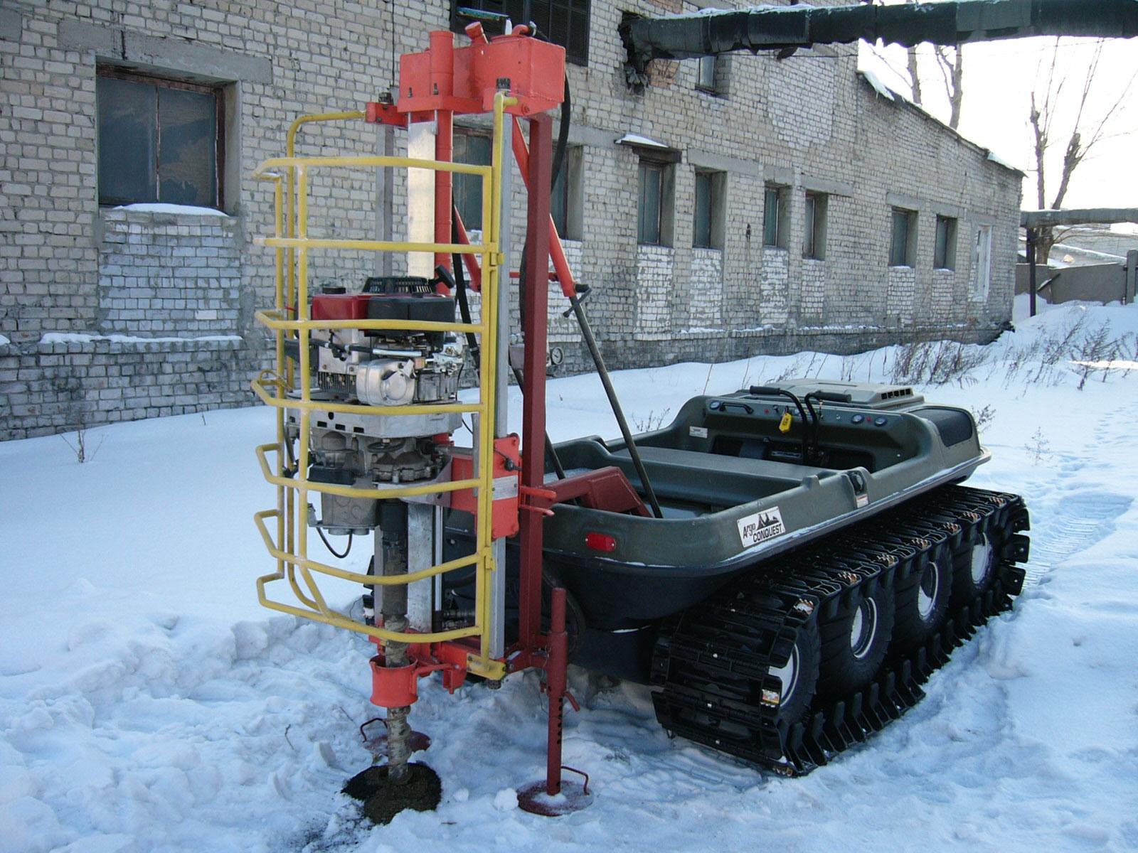 Установка буровая шнековая малогабаритная УБШМ-1-13 Арго