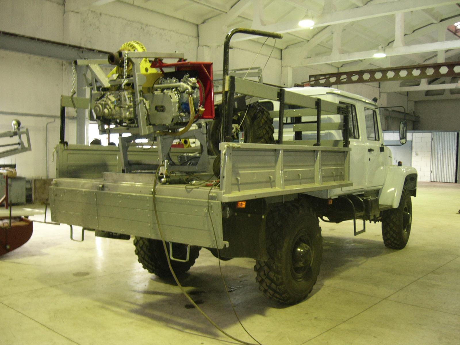 Установка буровая шнековая малогабаритная УБШМ-1-20 на базе ГАЗ-3308